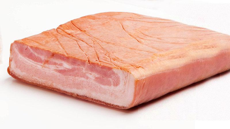 El bacon de motlle és el tipus de bacon més barat.