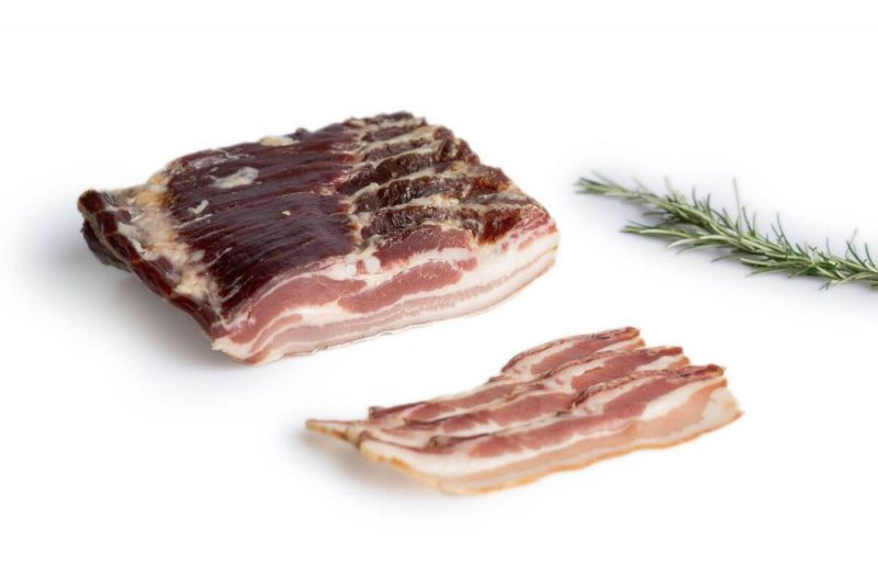 Bacon natural curado