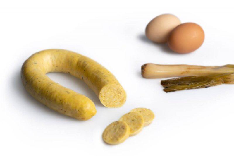 Egg Botifarra with Calçots