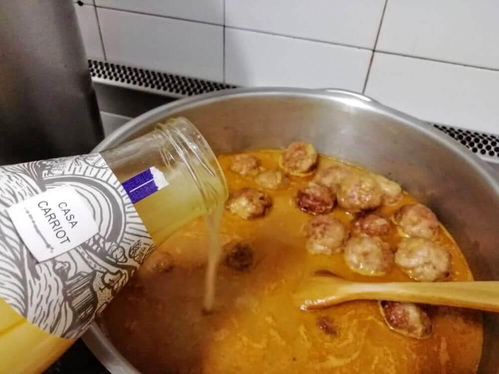 caldo para suquet de pescado