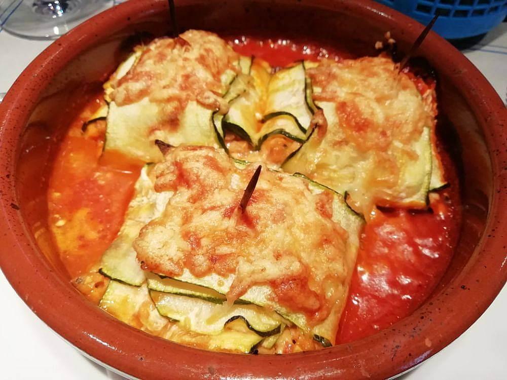 presentació recepta de raviolis de carbassó amb farcit de botifarra del Perol