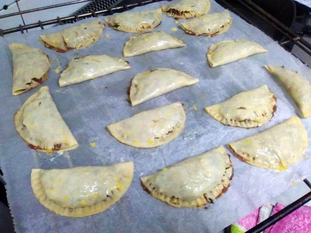 empanadillas bandeja horno