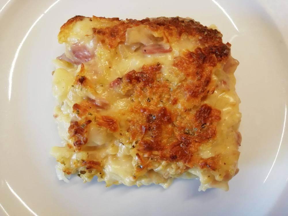 coliflor gratinada amb bacon