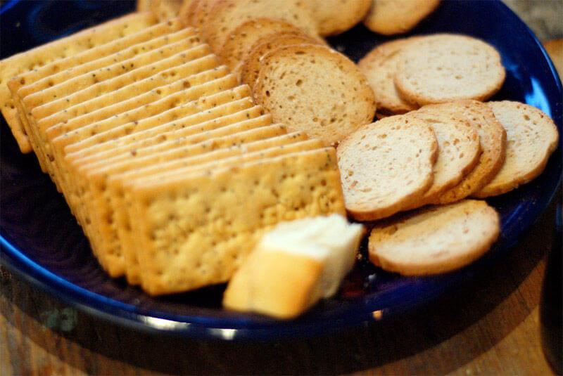 importancia escoger pan para presentación de patés en la mesa