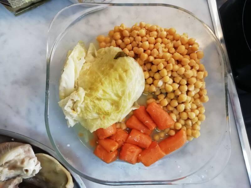 escudella legumbres